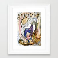 the flash Framed Art Prints featuring Flash by CrismanArt