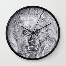 Weremonster 1 Wall Clock