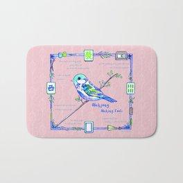Lovely Sparrow - Mahjong Bath Mat