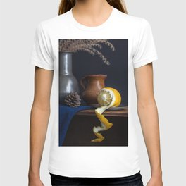 Stil life with lemon peel l Food Photography Art T-shirt