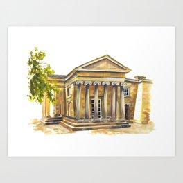 University of Cambridge / Downing College / Cambridge, UK Fine Art Giclee Print Art Print