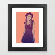 80/90s Marge Framed Art Print