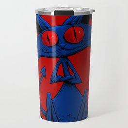 Evil Cat 001 Travel Mug