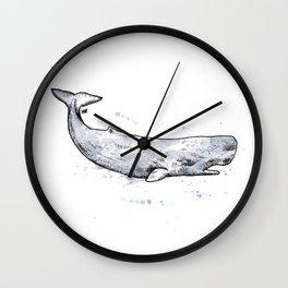 Sperm Whale Wall Clock