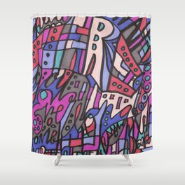 Feel This Real Forever Shower Curtain