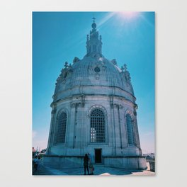 Dome of Portugal Canvas Print