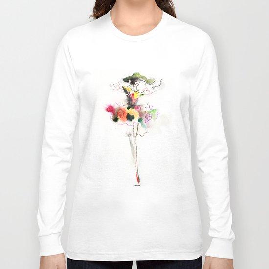 woman fashion Long Sleeve T-shirt