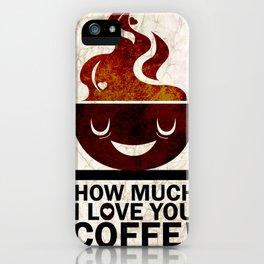 Coffe, love coffe iPhone Case