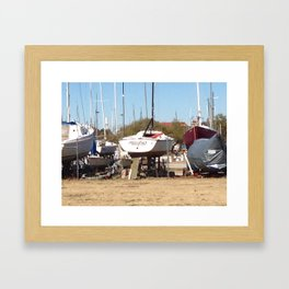 Out of Water... Framed Art Print