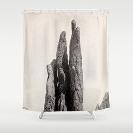 The Three Graces, Colorado 1901 Shower Curtain