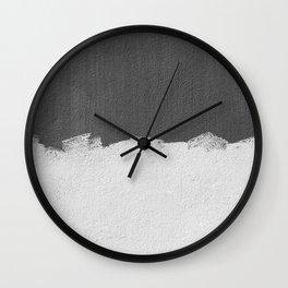 Minimalist Paint Texture Wall Clock