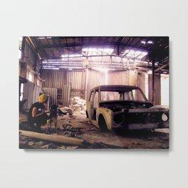 Tbilisi Garage Metal Print