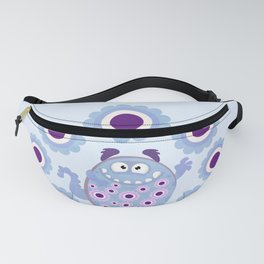 Cute Hippie Monster Fanny Pack