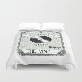 The Vinyl Duvet Cover