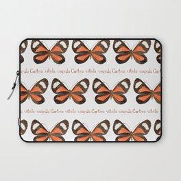 Butterfly - Cartea vitula ucayala Laptop Sleeve