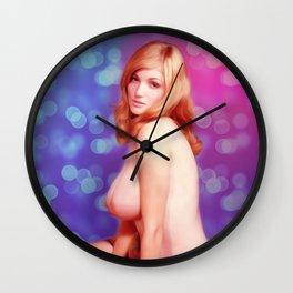 Vintage Pinup Wall Clock