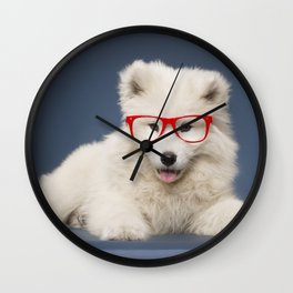 Little puppy Wall Clock