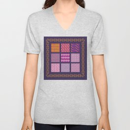 Violet Dream Unisex V-Neck
