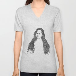 Locks Unisex V-Neck