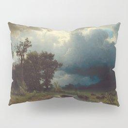 Albert Bierstadt - Buffalo Trail, The Impending Storm (1869) Pillow Sham