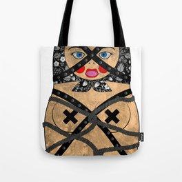 Bondage Matryoshka/Nesting Doll Tote Bag