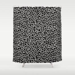 Memphis pattern 4 Shower Curtain