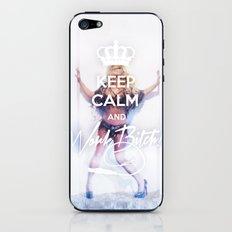 Keep Calm and Work Bxxch! iPhone & iPod Skin