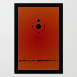 Dr. Manhattan Art Print