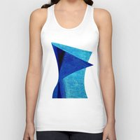 aqua Tank Tops featuring Aqua by BruceStanfieldArtistPainter