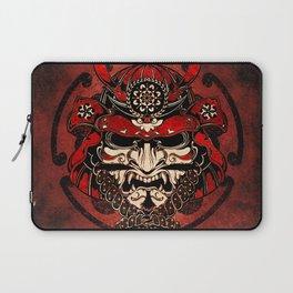 Samurai Mask, Bushido, Ronin Warrior, Samurai Art Laptop Sleeve