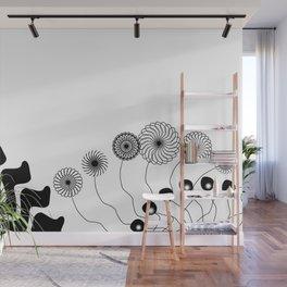 Black and White (II) Wall Mural