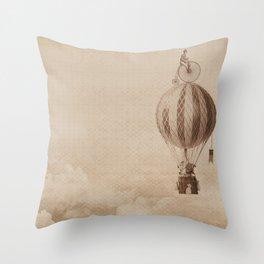 riding high Throw Pillow