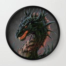 Regal Dragon Wall Clock