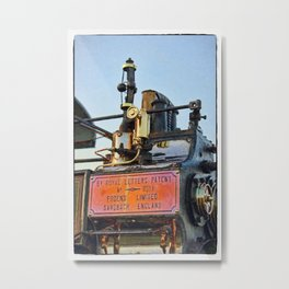 Traction engine close up collection 5  Metal Print