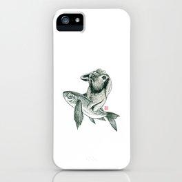 Rabbit & Rocketfish iPhone Case