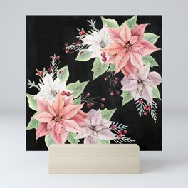 Poinsettia Mini Art Print