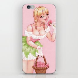 May's Girl iPhone Skin