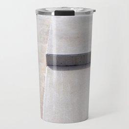 concrete geometry - modernist abstract 5 Travel Mug