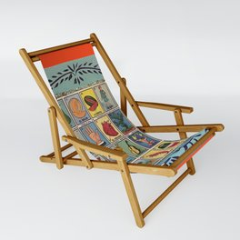 Mexican Bingo Loteria Sling Chair