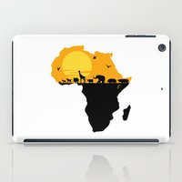 south africa iPad Cases featuring Africa by Emir Simsek