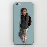 camouflage iPhone & iPod Skins featuring Camouflage by Laia™