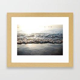 Sunrise Shore Framed Art Print