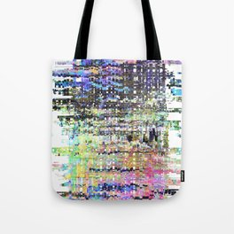 There is only a hint of the morning, lingering on. Tote Bag
