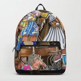 Athens Flea Market merchandise Backpack