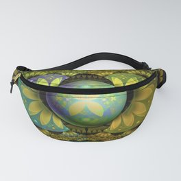 The Enchanted Feathers of the Golden Snitch Fanny Pack