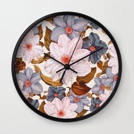 Vintage Garden V Wall Clock