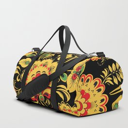 Khokhloma pattern Duffle Bag