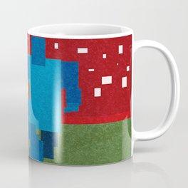 Football art minimalist Coffee Mug