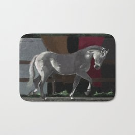 Andalusian horse Bath Mat
