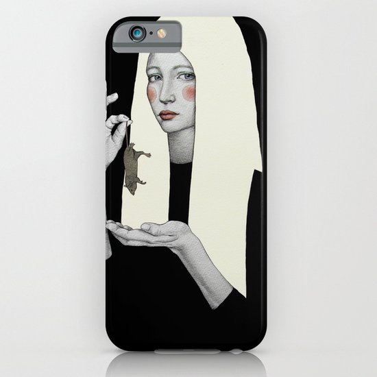 Vana in black iPhone & iPod Case